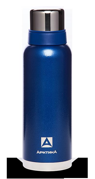 Термос Арктика (1,2 литра) с узким горлом американский дизайн, синий*