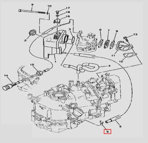 Хомут для лодочного мотора F5 Sea-PRO(6-6)