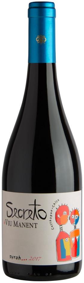 Вино Вью Манент Секрето Сира защ. наим. красное сух. 0,75 л 14,5% Чили