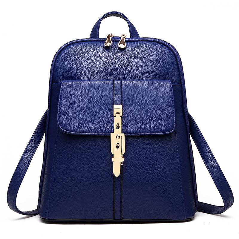 Женский рюкзак 6588 Navy Blue