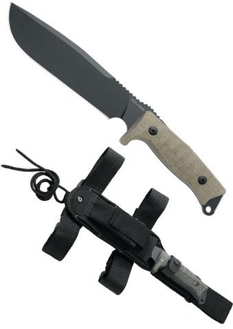 Нож с фиксированным клинком FOX Knives модель FX-133 MGT Combat Jungle COMBAT JUNGLE