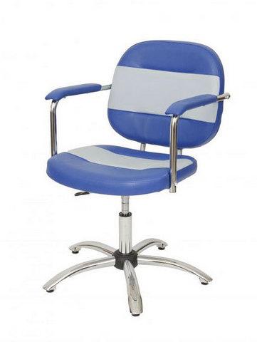 Парикмахерское кресло АЛЕКС пневматика хром