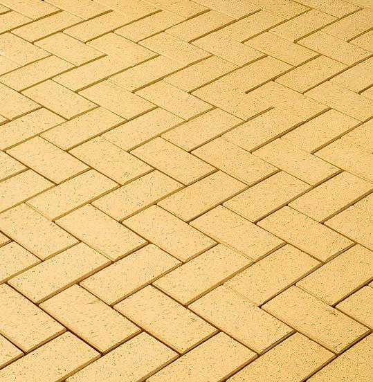 Клинкерная тротуарная брусчатка ЛСР, RAUF Design, Соломенный Барселона, 200x100x50