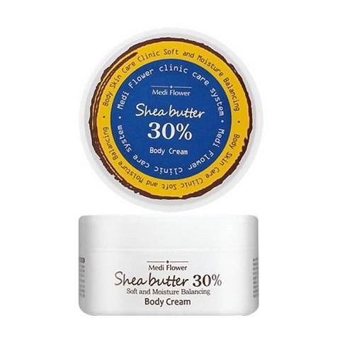 Крем для тела ультрапитательный с маслом ши 30% Medi Flower Shea Butter Body Cream 150мл