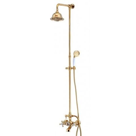 Душевая система KAISER 90190-3 (SXP-90-03) золото