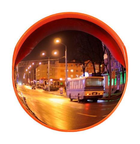 Зеркало сферическое с козырьком ЗС