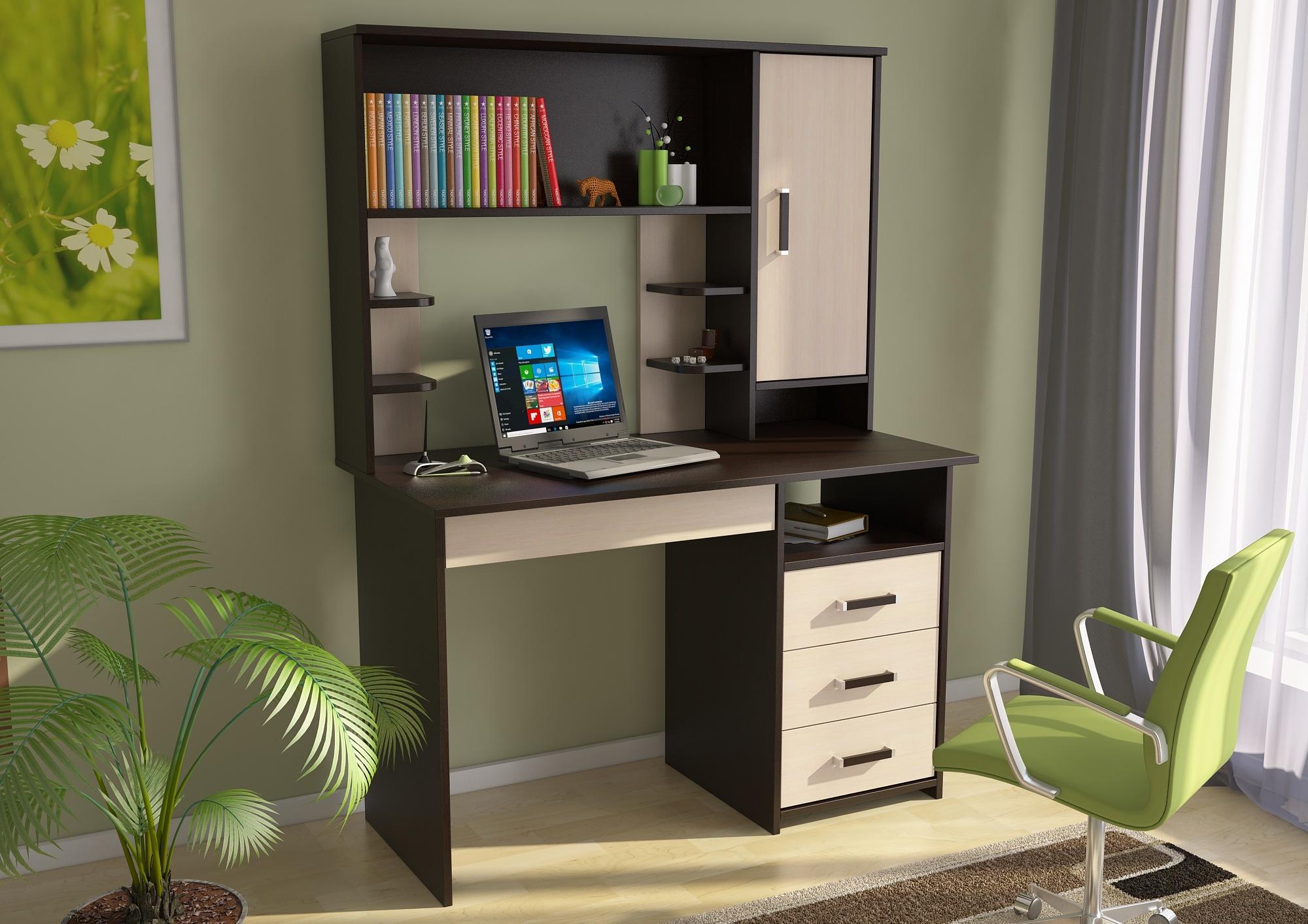 """Купить стол письменный """"сп3 с надстройкой"""" в Чите - Я покупа."""