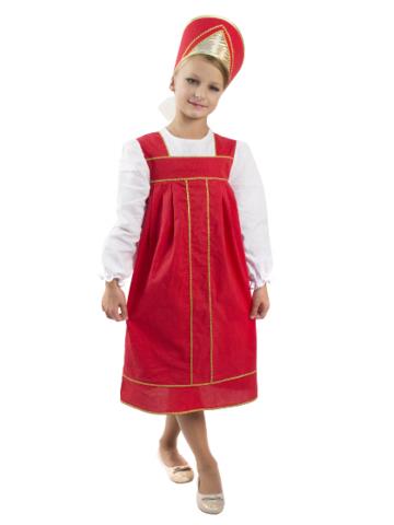 Карнавальный костюм Василиса (эконом) детский
