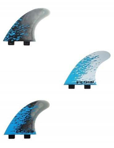 Плавники FCS PC-5 Blue Smoke Tri Retail Fins, компл. из трех, M