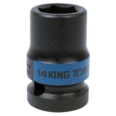 KING TONY (453514M) Головка торцевая ударная шестигранная 1/2