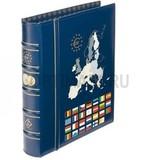 Альбом OPTIMA Classic, без шубера, без листов, тематическая обложка ЕВРО, синий