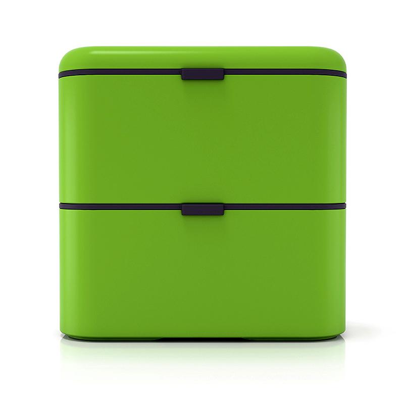 Ланч-бокс Monbento Square (1,7 литра) зеленый