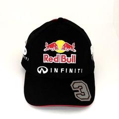 Кепка с вышитым логотипом Инфинити (Бейсболка INFINITI) черная