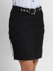 7709 юбка черная