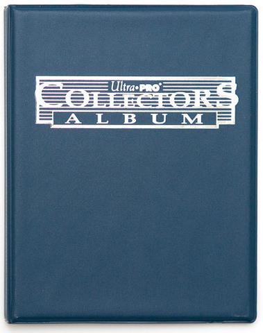 Альбом Ultra-Pro (с листами 2x2 кармашка): Синий