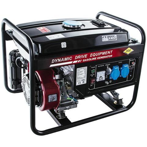 Генератор бензиновый DDE GG3300 (1ф ном/макс.  2,6/3,0 кВт, UP170, т/бак 15л, ручн./стартер, 46,5кг)