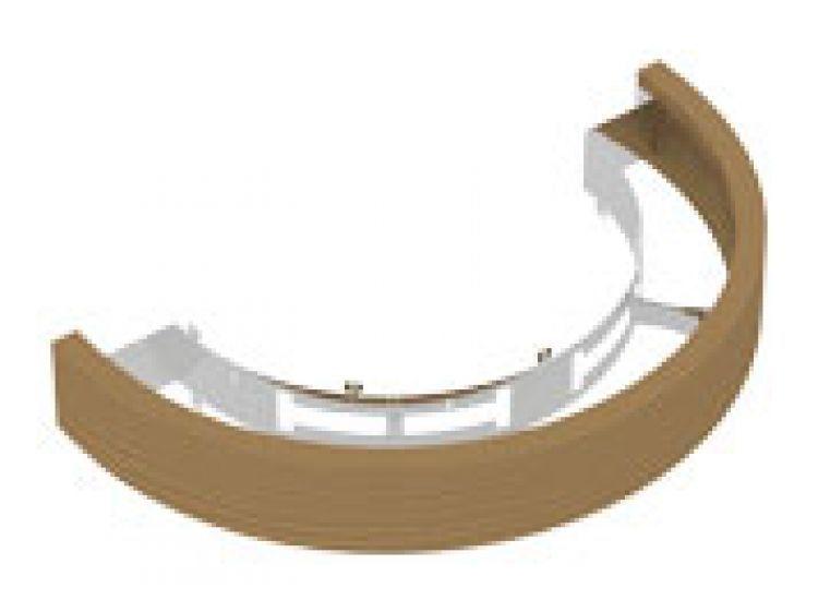 Ограждения и коврики: Деревянное ограждение SAWO TH-GUARD-W4-WL-D для печи пристенной установки TOWER TH4 TH5 (кедр)