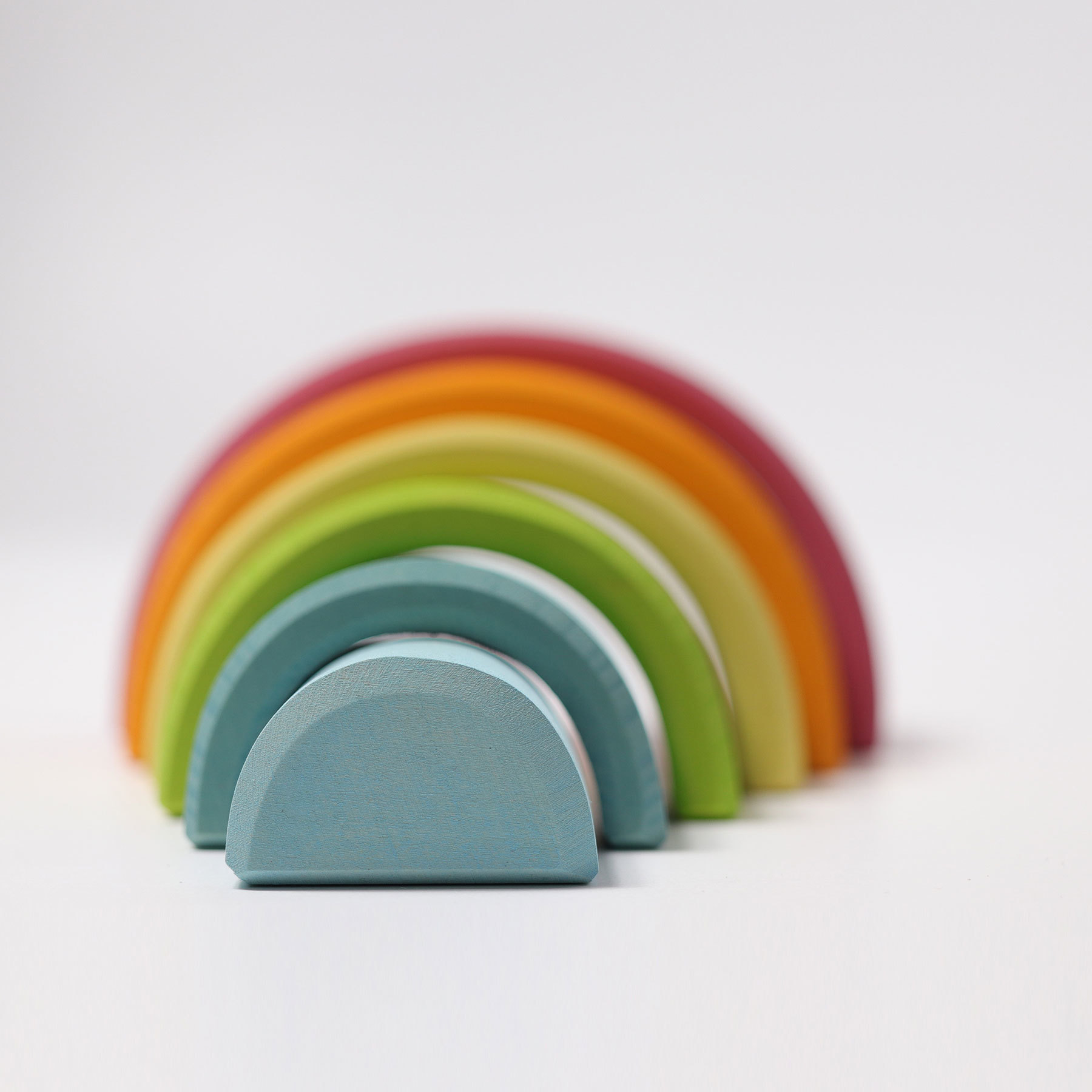 Средняя радуга, пастельные цвета (Grimms)