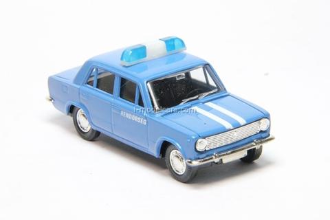 VAZ-2101 Lada Rendorseg Hungary Police Agat Mossar Tantal 1:43