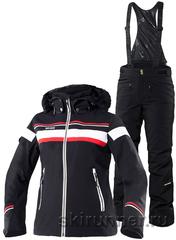 Горнолыжный костюм Carlin Black Poppy 16-17 женский