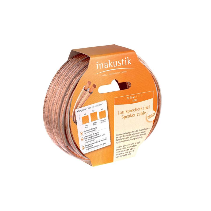 Inakustik Star LS cable, 2 x 0.75 mm2, 400 m, 003020