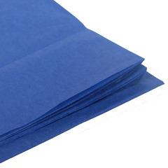 Бумага тишью темно-синяя 76 х 50 см, 10 листов (28 г/м)