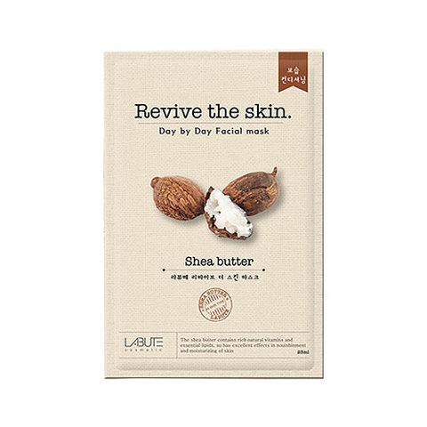 Тканевая маска с маслом Ши Revive The Skin Shea Butter Mask от Labute