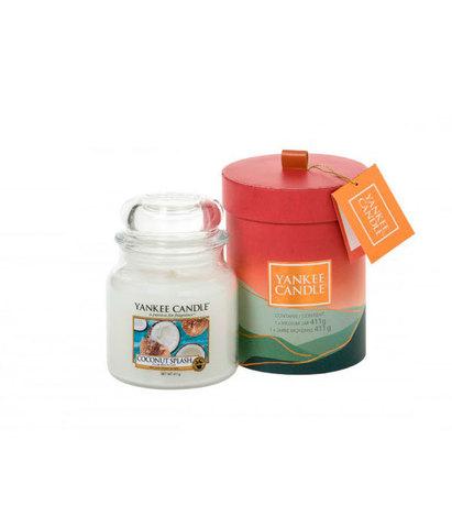 Подарочный набор средняя свеча в упаковке Кокосовый всплеск, Yankee Candle