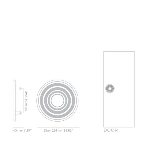 Дверная ручка PullCast HENDRIX TW5004