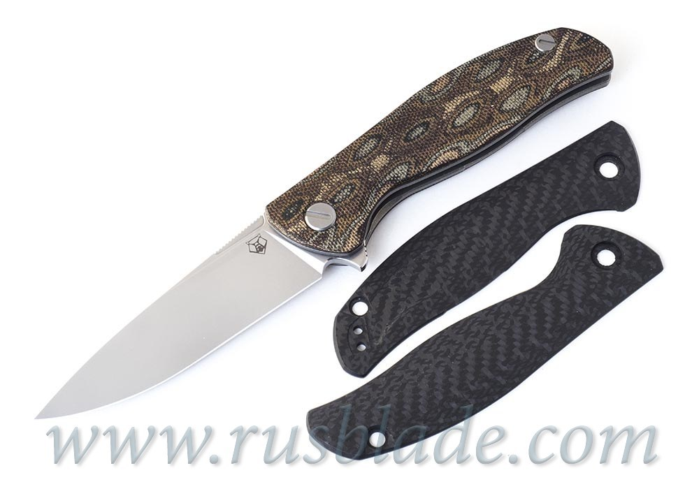 Shirogorov F3 carbon fiber handle scales