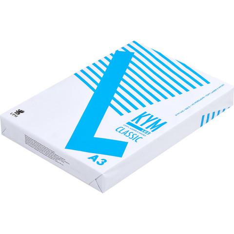 Бумага для ОфТех KYM LUX Classic (А3,80г,150%CIE,FI) пачка 500л