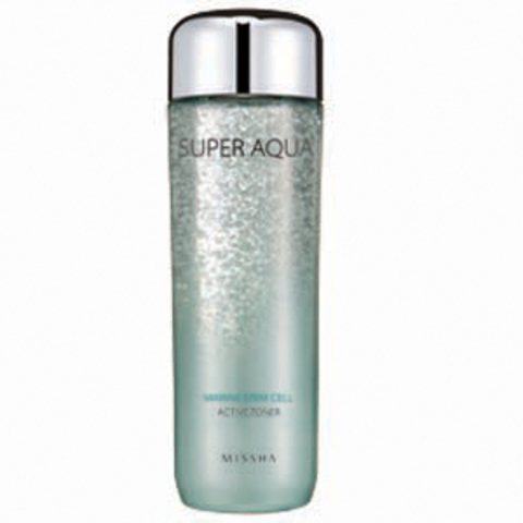 Missha Super Aqua Marine Stem Cell Active Toner
