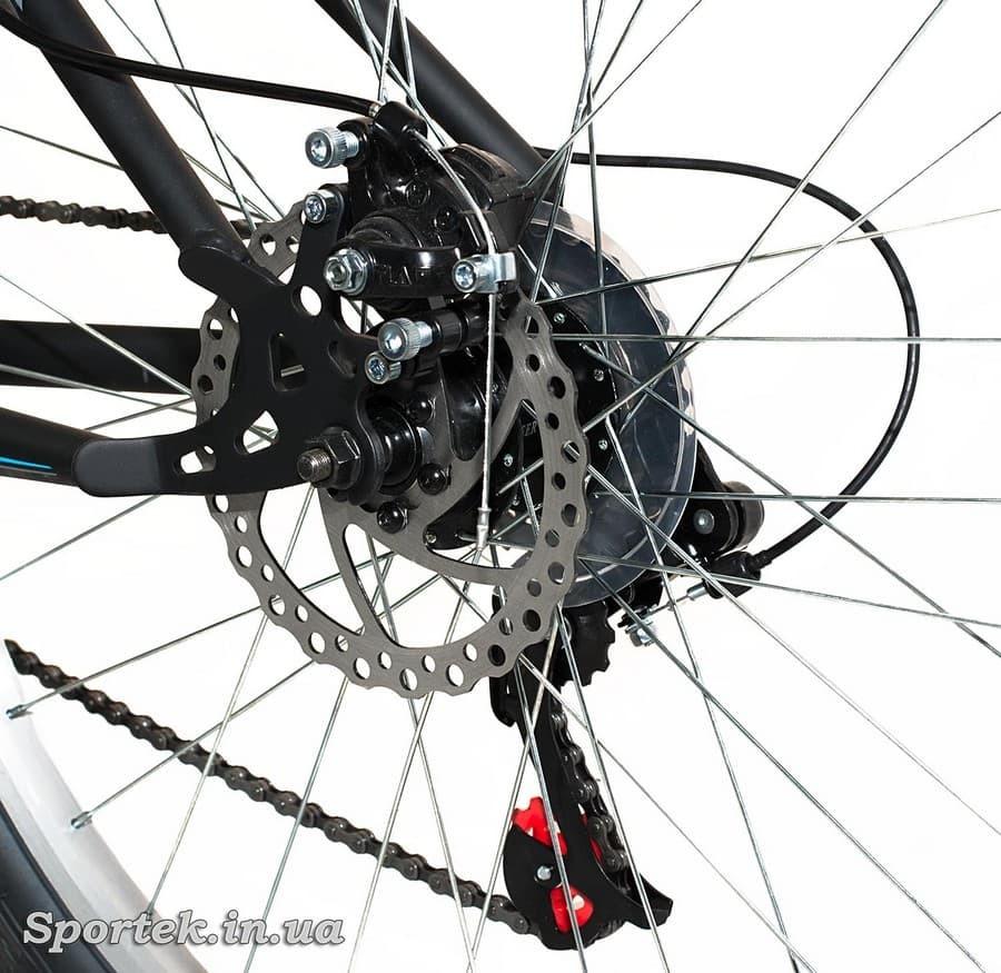 Дисковый тормоз горного универсального велосипеда Discovery Trek DD 2016 (Дискавери Трек)