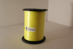 Лента простая (0,5см*500м) Желтая
