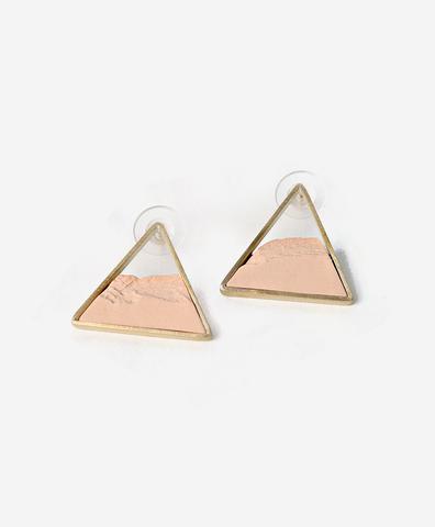 Серьги Triangle Dorada Salmon