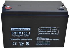 Аккумулятор Gewald Electric 6GFM100 - фото 1