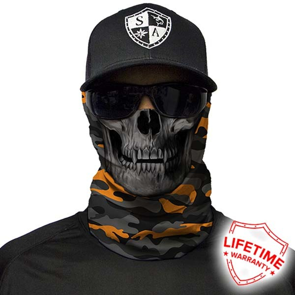SA Company Бандана с черепом SA Orange & Grey Military Camo Skull ORANGE-GREY-CAMO-SKULL-2.jpg