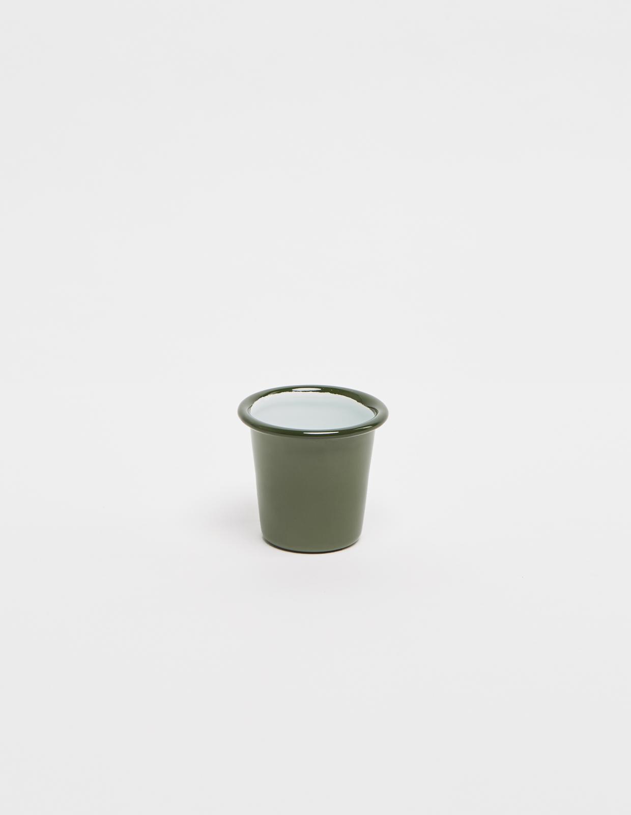 Мини стакан FALCON дымчато-зеленый
