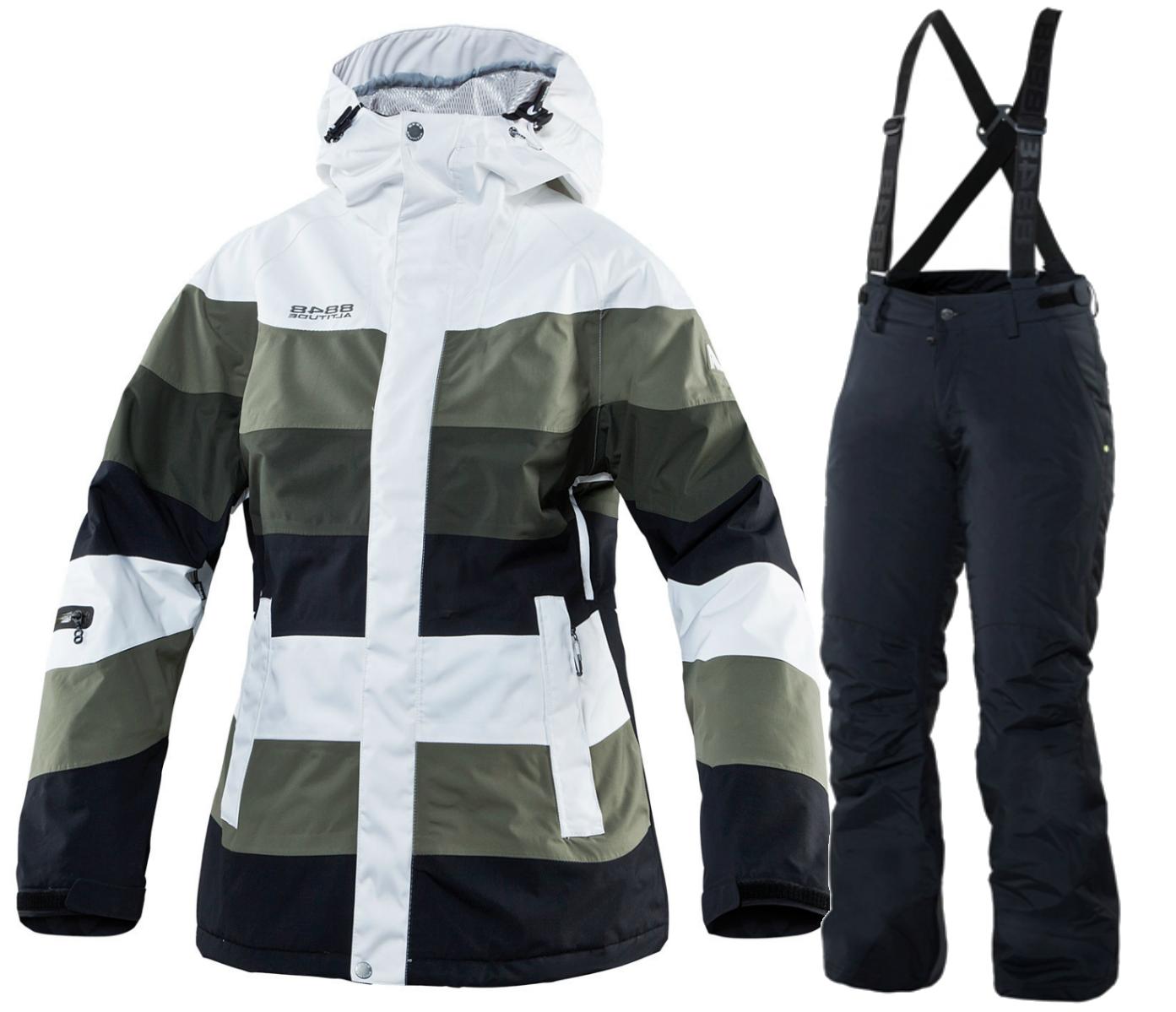 Горнолыжный костюм 8848 Altitude Army/Wanna