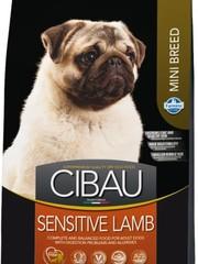 Корм для собак мелких пород, Farmina Cibau Sensitive Mini, с ягненком