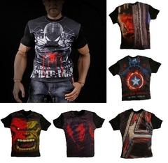 Аксессуары футболка Супергерои 1/6 — Accessories T-shirt Superheroes 1/6