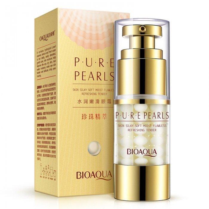 Bioaqua Крем для век с жемчугом Pure Pearls Eye Cream, 25 г