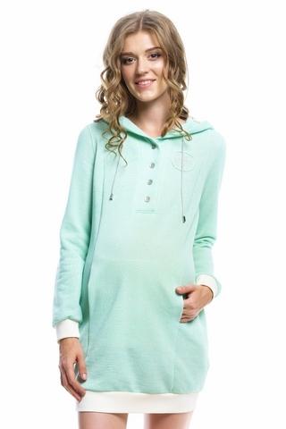 Платье для беременных цвет салатовый