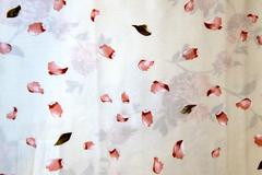 Ткань для штор Mediterraneo Petalos (Медитерранео Петалос) B 01 Rojo