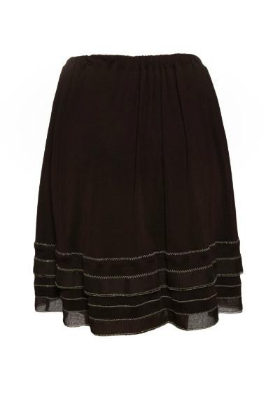 Изысканный костюм темно-бардового цвета от Chanel, 40 размер