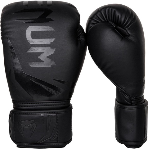 Перчатки для бокса Venum Challenger 3.0 Boxing Gloves-Black/Black