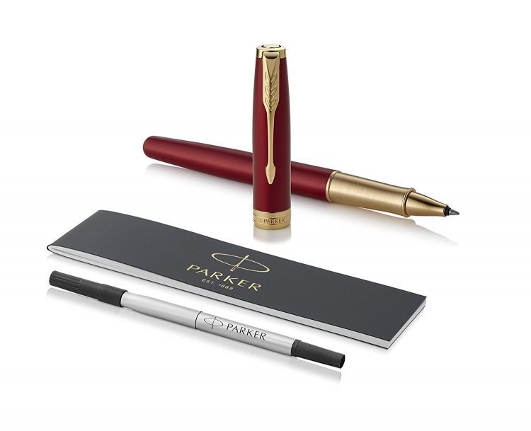 Parker Sonnet Core- LaqRed GT, ручка-роллер, F, BL