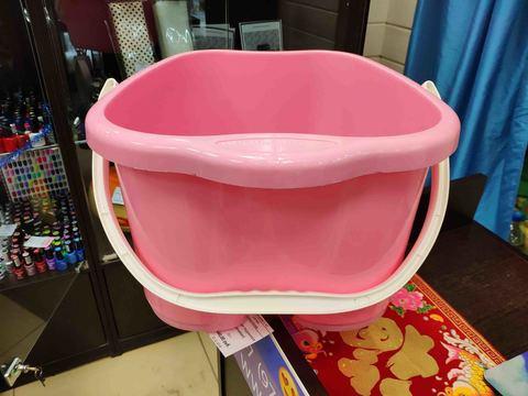 Ванна для педикюра (розовая), 20 л