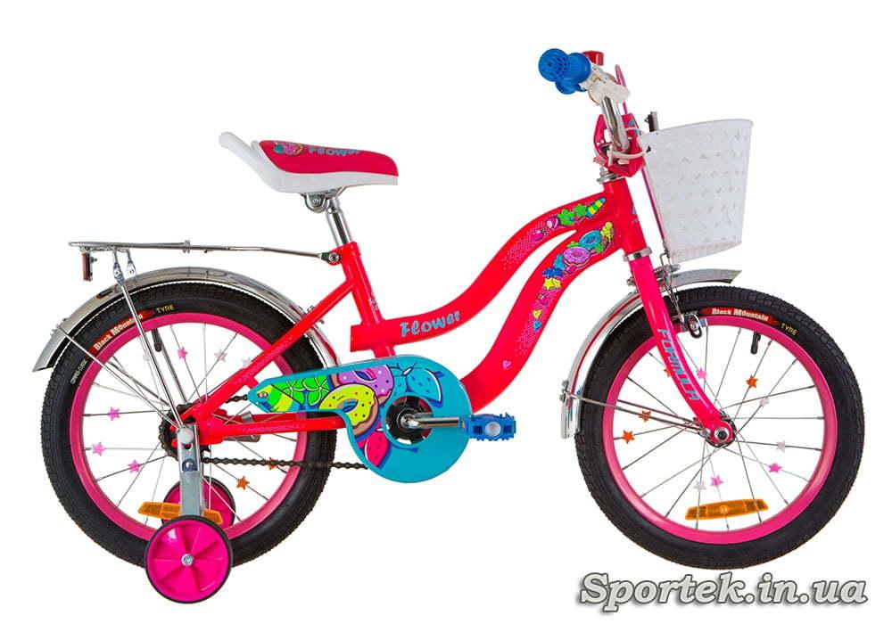 Велосипед Formula Flower - розовый