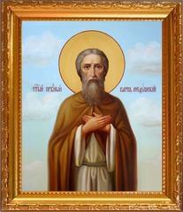 Карп Медушский Ковровский, праведник. Икона на холсте.